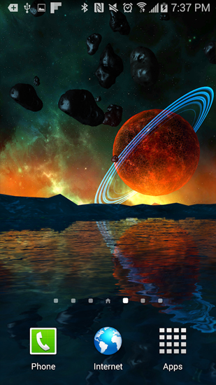 Download Far Galaxy - livewallpaper for Android. Far Galaxy apk - free download.