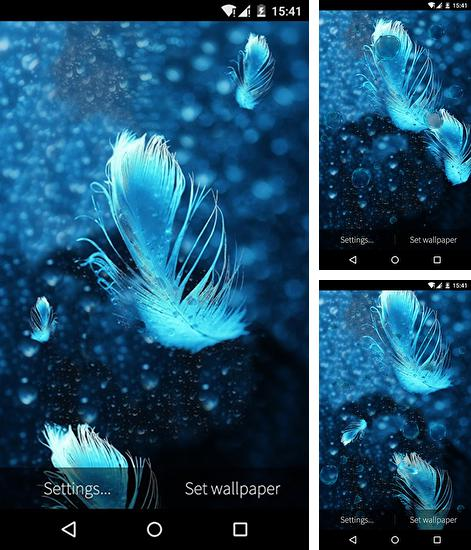In addition to live wallpaper Koi for Android phones and tablets, you can also download Feather: Bubble for free.