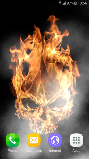 Free live wallpaper of fire