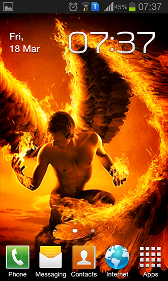 Download livewallpaper Fire angel for Android. Get full version of Android apk livewallpaper Fire angel for tablet and phone.