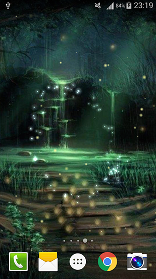Fireflies by Live wallpaper HD