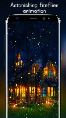 Fireflies by Live Wallpapers HD