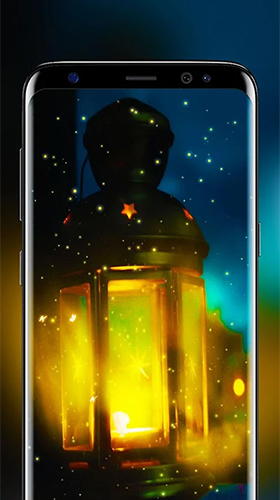 Screenshots of the Fireflies by Live Wallpapers HD for Android tablet, phone.