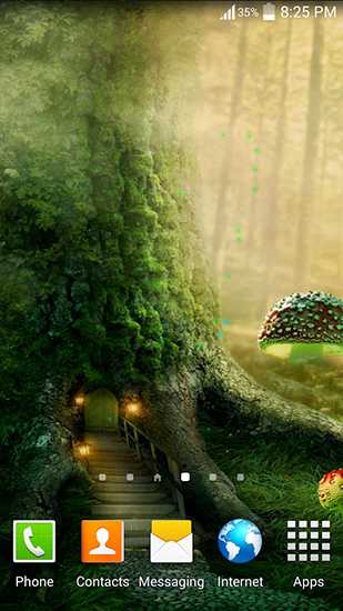 Screenshots of the Fireflies: Jungle for Android tablet, phone.