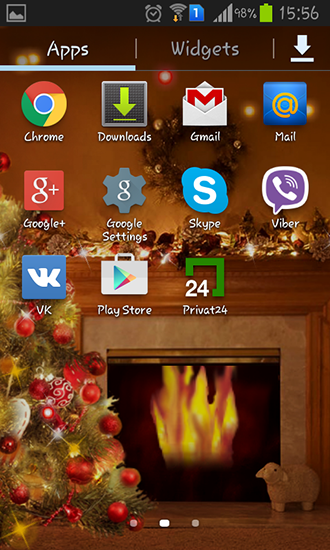 Download Fireplace New Year 2015 - livewallpaper for Android. Fireplace New Year 2015 apk - free download.
