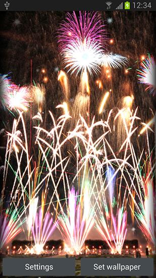 Descargar Fireworks Para Android Gratis El Fondo De Pantalla