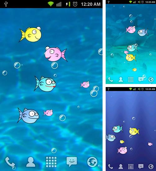 In addition to live wallpaper 3D sakura magic for Android phones and tablets, you can also download Fishbowl by Splabs for free.