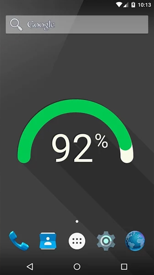 Flat Battery live wallpaper for Android  Flat Battery free