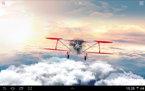 Capturas de pantalla de Flight in the sky 3D para tabletas y teléfonos Android.