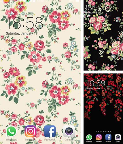 Download live wallpaper Floral for Android. Get full version of Android apk livewallpaper Floral for tablet and phone.