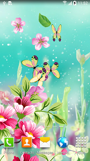 Flowers By Live Wallpapers Para Android Baixar Gratis O Papel De