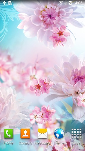 Flowers by Live wallpapers 3D für Android spielen. Live Wallpaper Blumen von Live Wallpapers 3D kostenloser Download.