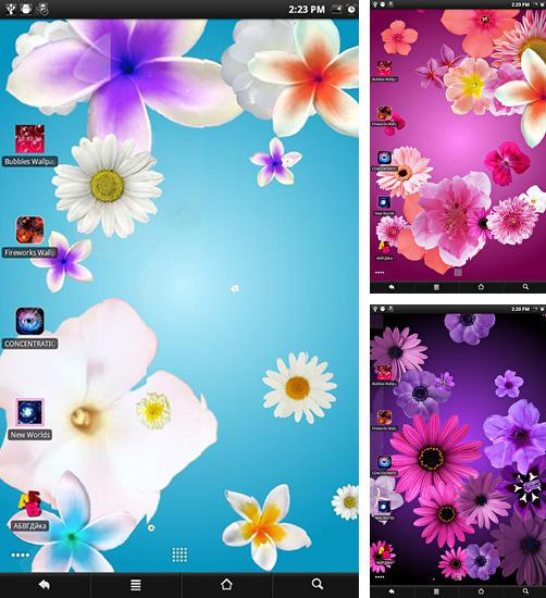 In addition to Flowers live wallpaper live wallpapers for Android, you can download other free