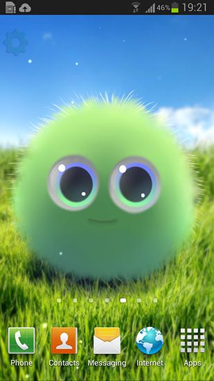 Descargar fluffy chu para android gratis el fondo de for Fondos de pantalla animados gratis para celulares