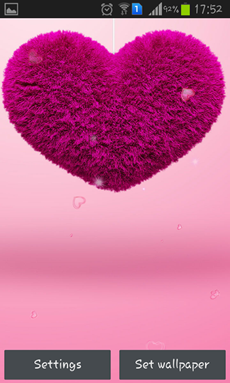 Download Fluffy hearts - livewallpaper for Android. Fluffy hearts apk - free download.