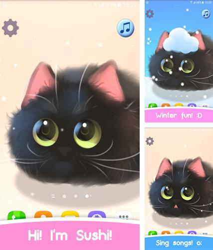 Download live wallpaper Fluffy Sushi for Android. Get full version of Android apk livewallpaper Fluffy Sushi for tablet and phone.