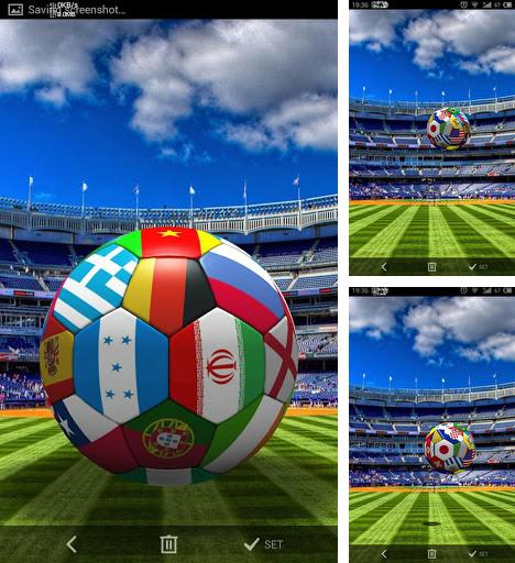 Download live wallpaper Football 3D for Android. Get full version of Android apk livewallpaper Football 3D for tablet and phone.