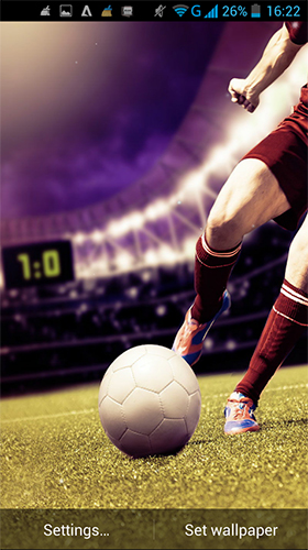 Download livewallpaper Football by LWP World for Android. Get full version of Android apk livewallpaper Football by LWP World for tablet and phone.