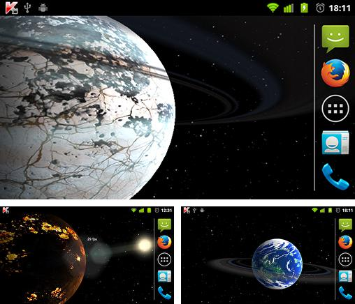 Foreign Planets 3D Live Wallpaper For Android Free Download Tablet And Phone