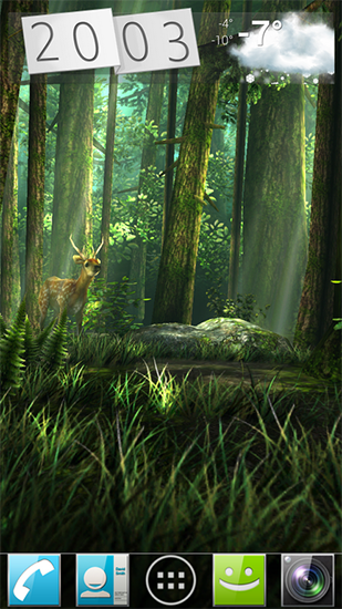 Screenshots of the Forest HD for Android tablet, phone.