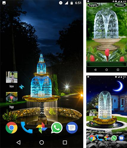 Download live wallpaper Fountain 3D for Android. Get full version of Android apk livewallpaper Fountain 3D for tablet and phone.