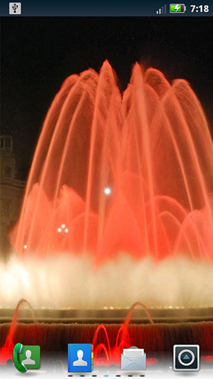 Download Fountains - livewallpaper for Android. Fountains apk - free download.