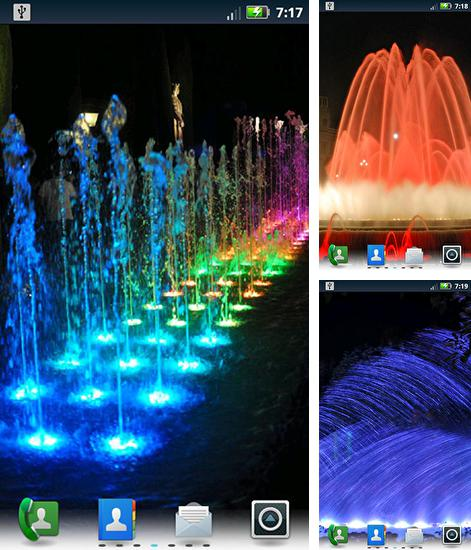 In addition to live wallpaper Cute by Live Wallpapers Gallery for Android phones and tablets, you can also download Fountains for free.