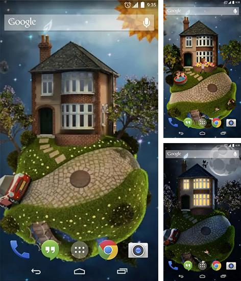 In addition to live wallpaper Heavenly Bird for Android phones and tablets, you can also download Four seasons for free.