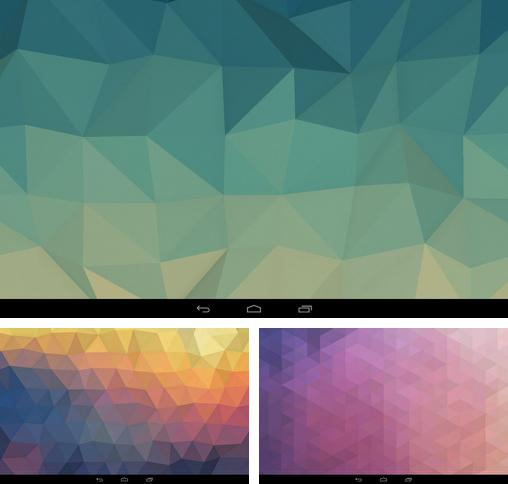 In addition to live wallpaper Shapes for Android phones and tablets, you can also download Fracta for free.