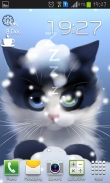 Frosty the kitten - download free live wallpapers for Android. Frosty the kitten full Android apk version for tablets and phones.