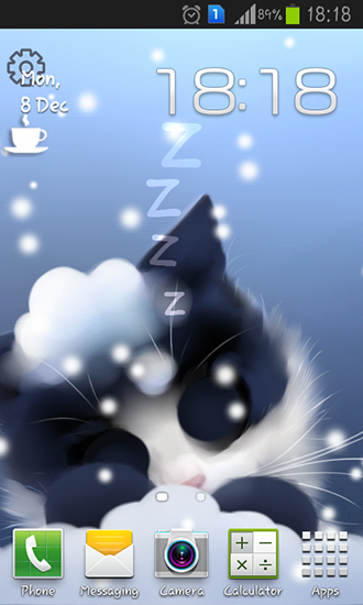 Download Frosty the kitten - livewallpaper for Android. Frosty the kitten apk - free download.