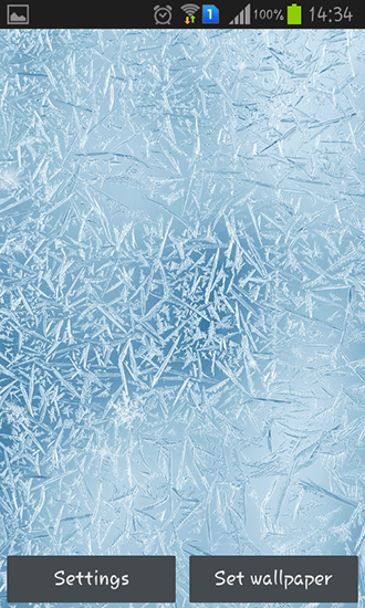 Screenshots of the Frozen glass by Frisky lab for Android tablet, phone.