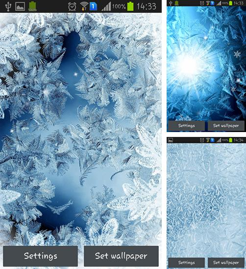 In addition to live wallpaper Mystic night by Live Wallpaper HQ for Android phones and tablets, you can also download Frozen glass by Frisky lab for free.