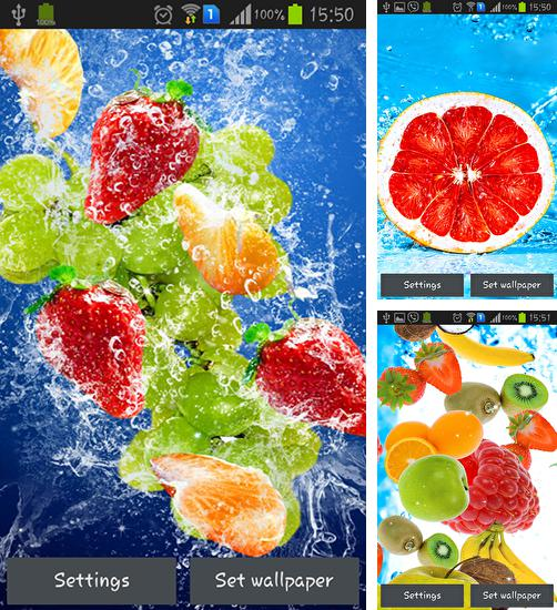 Download live wallpaper Fruits for Android. Get full version of Android apk livewallpaper Fruits for tablet and phone.
