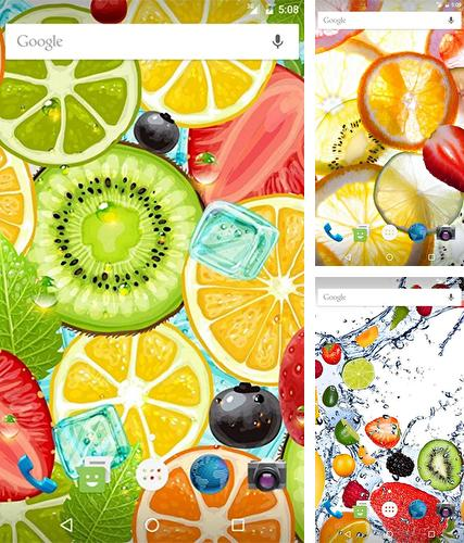 Download live wallpaper Fruits by Wasabi for Android. Get full version of Android apk livewallpaper Fruits by Wasabi for tablet and phone.