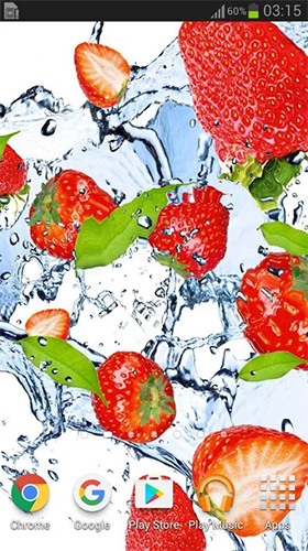 Download livewallpaper Fruits in the water for Android. Get full version of Android apk livewallpaper Fruits in the water for tablet and phone.
