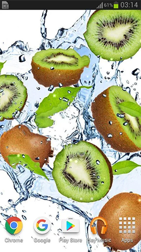 Download Fruits in the water - livewallpaper for Android. Fruits in the water apk - free download.