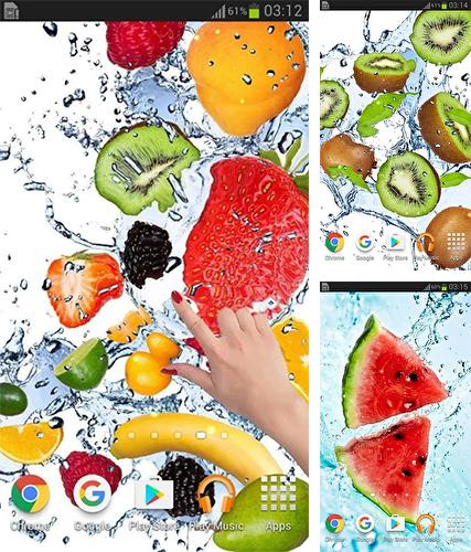 Fruits in the water