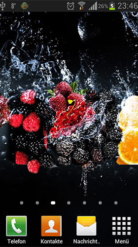 Download livewallpaper Fruits in the water by Neygavets for Android. Get full version of Android apk livewallpaper Fruits in the water by Neygavets for tablet and phone.
