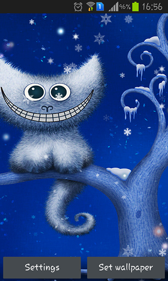 Download livewallpaper Funny Christmas kitten and his smile for Android. Get full version of Android apk livewallpaper Funny Christmas kitten and his smile for tablet and phone.