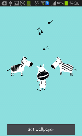 Download livewallpaper Funny zebra for Android. Get full version of Android apk livewallpaper Funny zebra for tablet and phone.