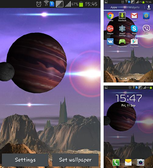 In addition to live wallpaper Waterize for Android phones and tablets, you can also download Galaxy legends for free.