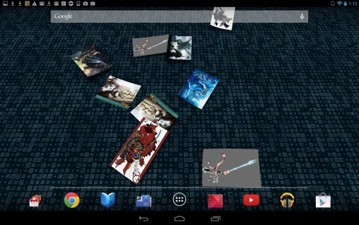 Gallery 3D live wallpaper for Android  Gallery 3D free