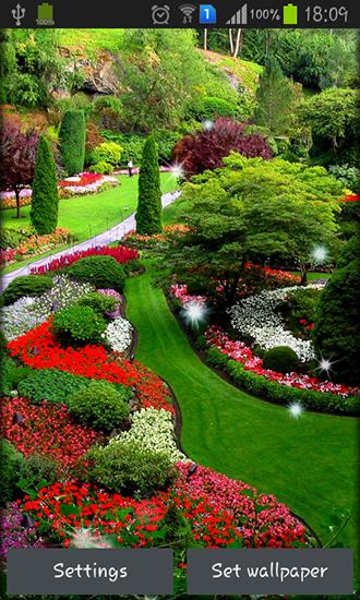 Descargar garden para android gratis el fondo de pantalla - Fotos de jardines ...
