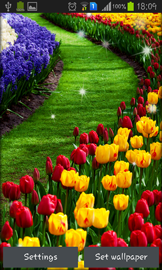 Download Garden - livewallpaper for Android. Garden apk - free download.