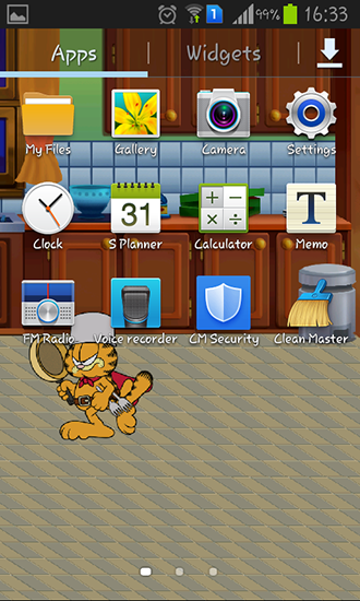 Download livewallpaper Garfield's defense for Android. Get full version of Android apk livewallpaper Garfield's defense for tablet and phone.