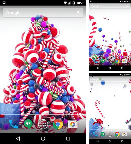 In addition to live wallpaper Winter snow by HD WALL MEDIA for Android phones and tablets, you can also download Gift for free.