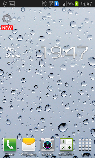 Download livewallpaper Glass for Android. Get full version of Android apk livewallpaper Glass for tablet and phone.