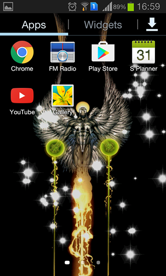 Download Glitter angel - livewallpaper for Android. Glitter angel apk - free download.