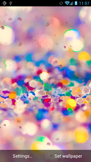 Glitter by HD Live wallpapers free